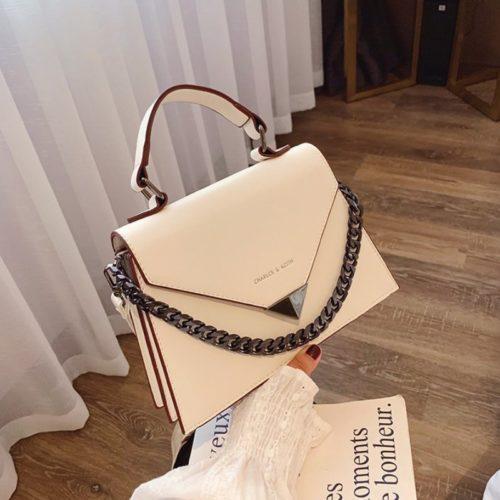 JTF7242-beige Tas Handbag Selempang Wanita Cantik Elegan Import