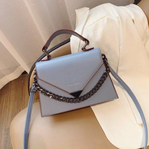 JTF7242-blue Tas Handbag Selempang Wanita Cantik Elegan Import