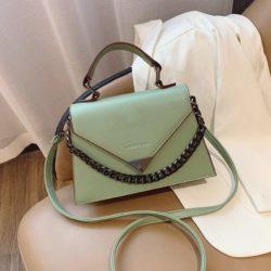 JTF7242-green Tas Handbag Selempang Wanita Cantik Elegan Import