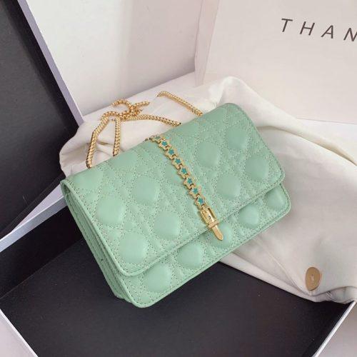 JTF7244-green Tas Selempang Clutch Wanita Cantik Import