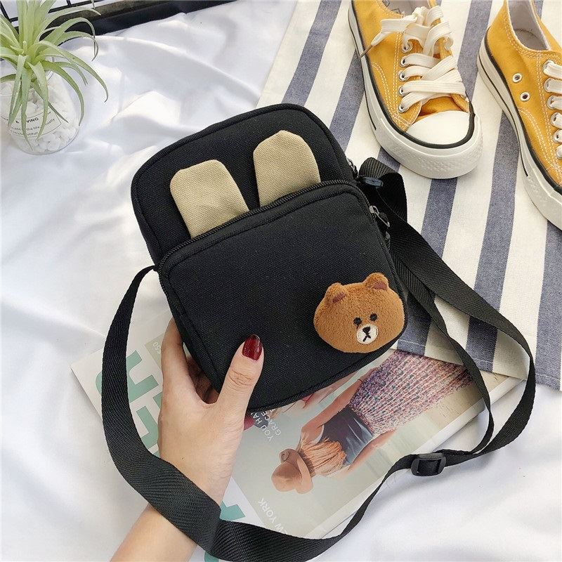 JTF7398 IDR.33.000 MATERIAL CANVAS SIZE L15XH20X6CM WEIGHT 100GR COLOR BLACK