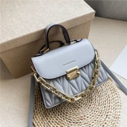 JTF7571-gray Tas Handbag Selempang Wanita Cantik Import