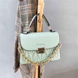 JTF7571-green Tas Handbag Selempang Wanita Cantik Import