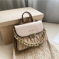 JTF7571-khaki Tas Handbag Selempang Wanita Cantik Import