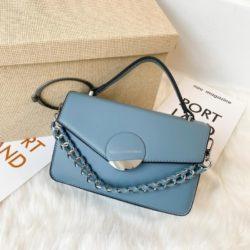 JTF7590-blue Tas Selempang Pesta Wanita Elegan Import Terbaru