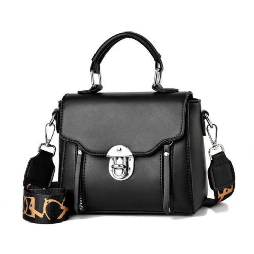 JTF7641-black Tas Selempang Fashion Wanita Cantik Import Terbaru