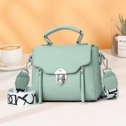 JTF7641-green Tas Selempang Fashion Wanita Cantik Import Terbaru