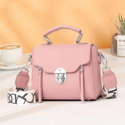 JTF7641-pink Tas Selempang Fashion Wanita Cantik Import Terbaru