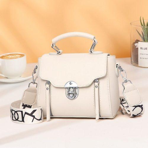 JTF7641-white Tas Selempang Fashion Wanita Cantik Import Terbaru
