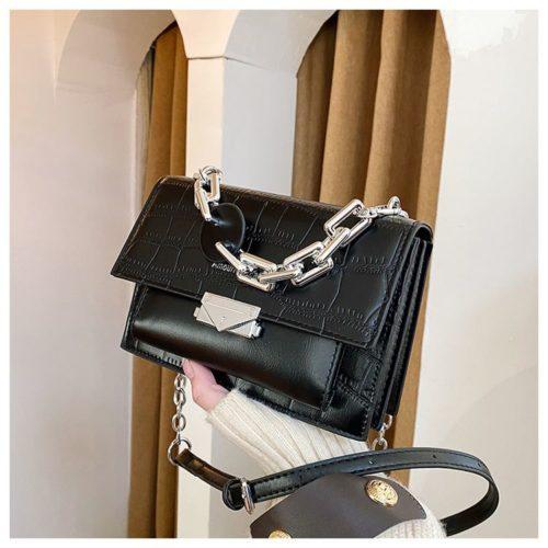 JTF7650-black Tas Selempang Wanita Elegan Terbaru Import