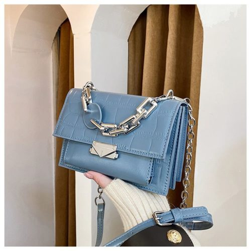 JTF7650-blue Tas Selempang Wanita Elegan Terbaru Import