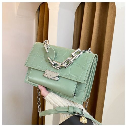 JTF7650-green Tas Selempang Wanita Elegan Terbaru Import