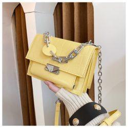JTF7650-yellow Tas Selempang Wanita Elegan Terbaru Import