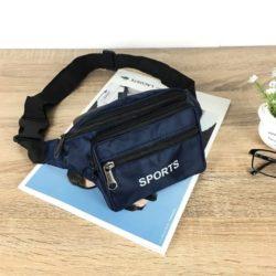 JTF7708-blue Tas Waistbag Keren Import