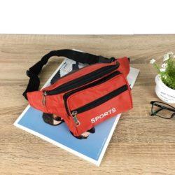 JTF7708-red Tas Waistbag Keren Import