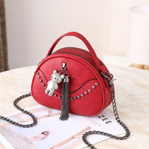 JTF7712  MATERIAL PU SIZE L19XH14.5XW7CM WEIGHT 350GR COLOR RED