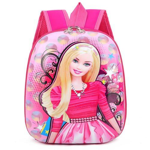 JTF776-barbie Tas Telur Ransel Anak Sekolah Import