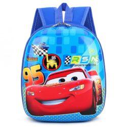 JTF776-bluecars Tas Telur Ransel Anak Sekolah Import