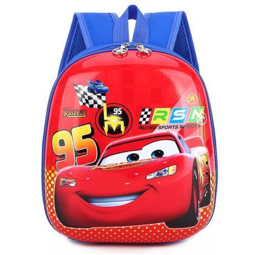 JTF776-redcars Tas Telur Ransel Anak Sekolah Import