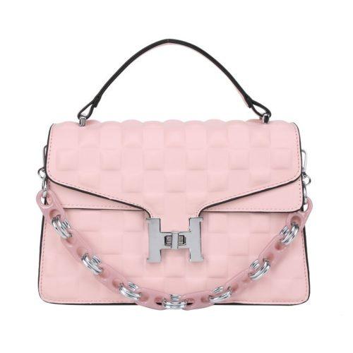 JTF77801-pink Tas Selempang Elegan Wanita Cantik Import Terbaru