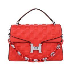 JTF77801-red Tas Selempang Elegan Wanita Cantik Import Terbaru