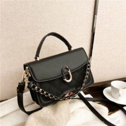 JTF77802-black Tas Handbag Selempang Wanita Cantik Import Terbaru