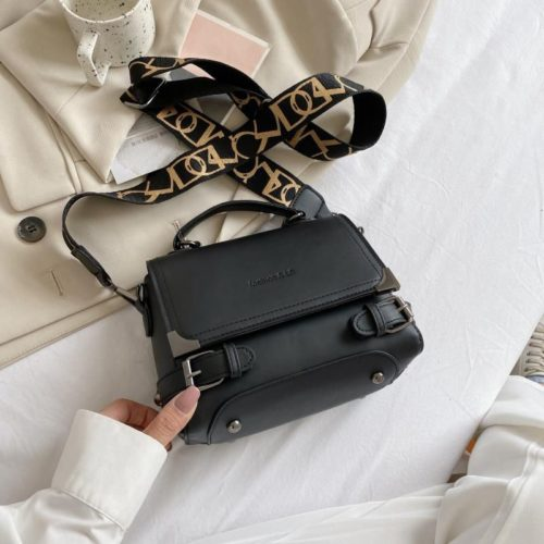 JTF77805-black Tas Selempang Import Wanita Cantik Terbaru