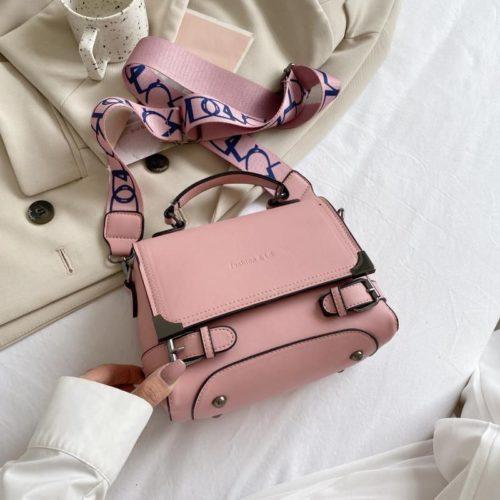 JTF77805-pink Tas Selempang Import Wanita Cantik Terbaru