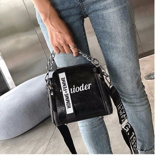 JTF8016 IDR.59.000 MATERIAL PU SIZE L18XH17XW8CM WEIGHT 400GR COLOR BLACK