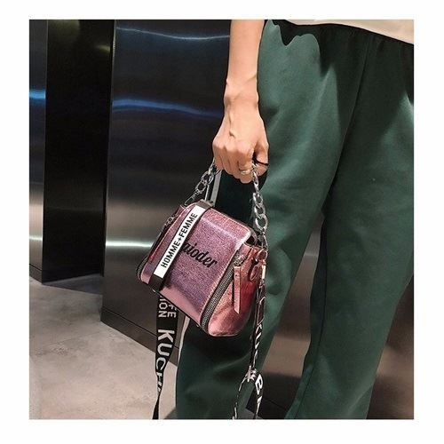 JTF8016 IDR.59.000 MATERIAL PU SIZE L18XH17XW8CM WEIGHT 400GR COLOR PINK