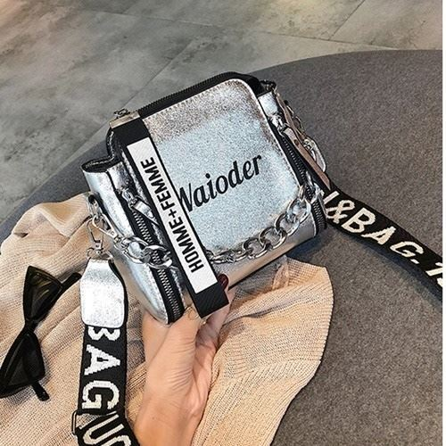 JTF8016 IDR.59.000 MATERIAL PU SIZE L18XH17XW8CM WEIGHT 400GR COLOR SILVER