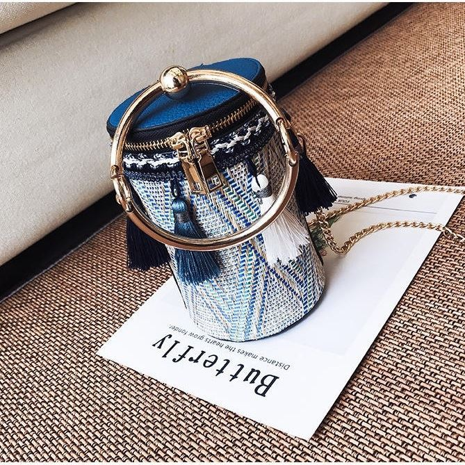 JTF8056 IDR.95.000 MATERIAL CANVAS SIZE L11XH17XW11CM WEIGHT 500GR COLOR BLUE