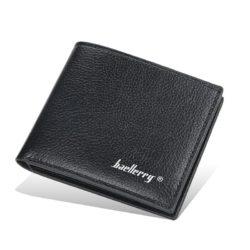 JTF810-black Dompet Lipat Pria Baellerry Import Terbaru