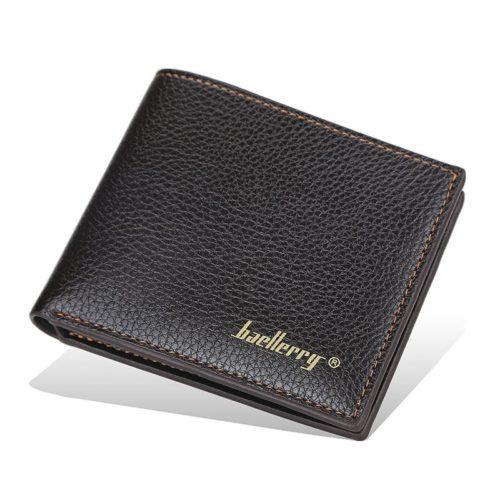 JTF810-brown Dompet Lipat Pria Baellerry Import Terbaru
