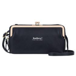 JTF8102-black Dompet Selempang BAELLERRY Wanita Cantik Terbaru