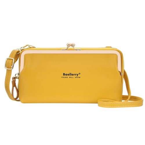 JTF8102-yellow Dompet Selempang BAELLERRY Wanita Cantik Terbaru