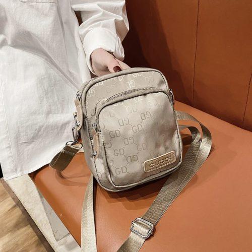 JTF81331-khaki Tas Selempang GD Wanita Cantik Import Terbaru