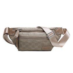 JTF81333-khaki Waist Bag GD Wanita Cantik Import Terbaru