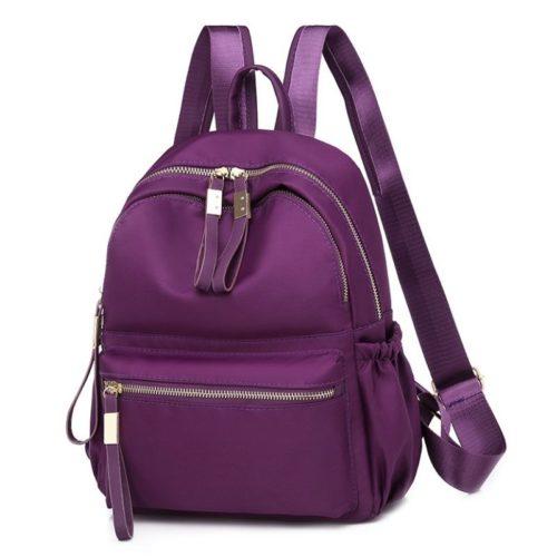 JTF813479-purple Tas Ransel Stylish Wanita Cantik Import Terbaru