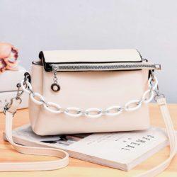 JTF830-white Tas Selempang Fashion Terbaru Wanita Cantik