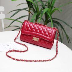 JTF8396A-red Tas Selempang Clutch Wanita Cantik Import