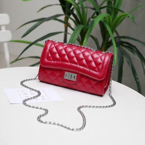 JTF8396B-red Tas Selempang Clutch Wanita Cantik Import