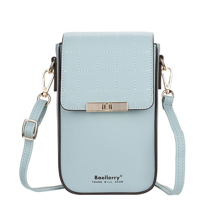 JTF8612 IDR.92.000 MATERIAL PU SIZE L12XH19XW6.5CM WEIGHT 300GR COLOR LIGHTBLUE