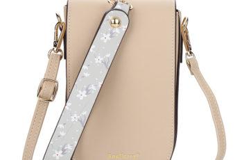 JTF8613-beige Tas Handphone Selempang BAELLERRY Wanita Cantik
