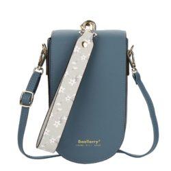 JTF8613-blue Tas Handphone Selempang BAELLERRY Wanita Cantik