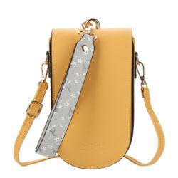JTF8613-yellow Tas Handphone Selempang BAELLERRY Wanita Cantik