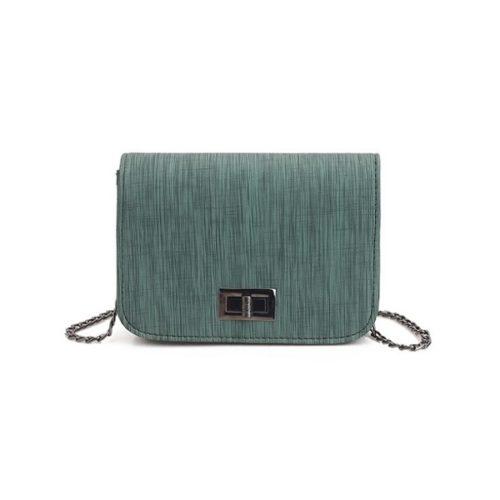 JTF8779-green Tas Selempang Mini Import Cantik