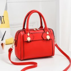 JTF8802-red Tas Handbag Selempang Import Wanita Elegan