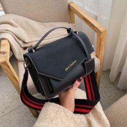 JTF88050B-black Tas Selempang Wanita Cantik Terbaru Import