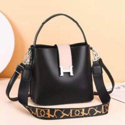 JTF88071A-black Tas Selempang Wanita Elegan Import Terbaru